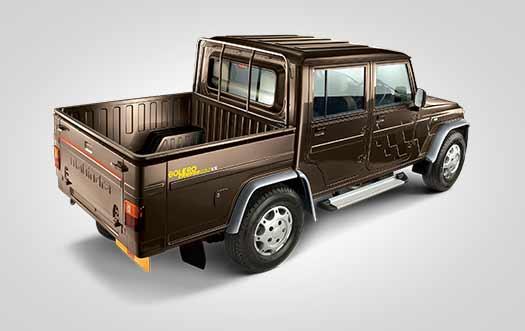Bolero Camper back trunk image
