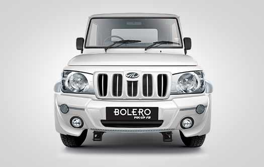 Mahindra Bolero Pick up back view image